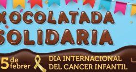 Taca't contra el Càncer Infantil —Xocolatada solidària