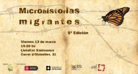 Microhistorias Migrantes —8′ edició